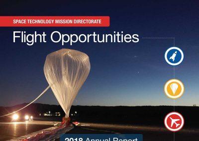 NASA Flight Opportunities Annual Report 2018