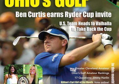 Ohio's Golf Magazine Covers