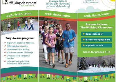 The Walking Classroom 3-Banner Display