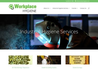 Workplace Hygiene Website