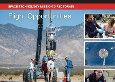 NASA Flight Opportunities Annual Report 2019