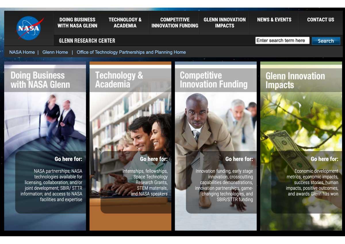 NASA Glenn Research Center Web Portal