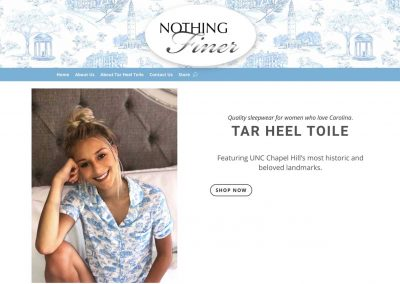 Nothing Finer Website