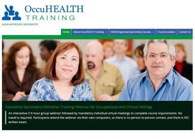 OccuHealth Training Website