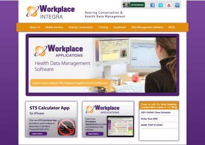 Workplace Integra Website