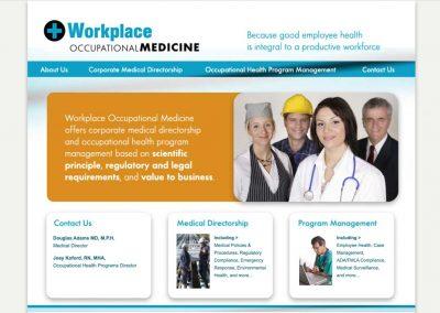 Workplace Occupational Medicine Website