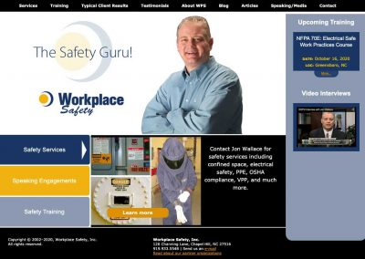 Workplace Safety Website